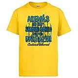Camiseta además de ser Submarino Amarillo Soy un padrazo para Aficionado al fútbol de Villarreal - Amarillo, 3-4 años