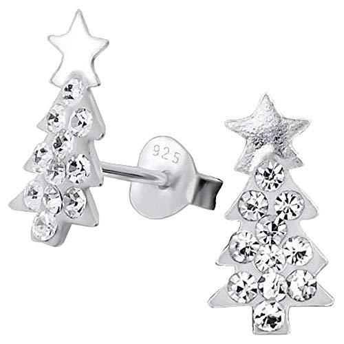So Chic Joyas© pendientes niño árbol árbol Navidad