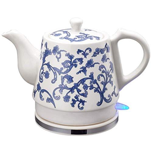 YSkettle Ceramic Hervidores eléctricos Apagado automático de ebullición rápida China Vintage Porcelana...