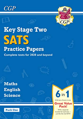 KS2 Complete SATS Practice Papers Pack: Science, Maths & English (for the 2021 tests) - Pack 1 (CGP KS2 SATs Practice Papers)