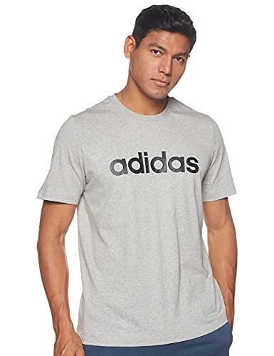 adidas Camiseta M Lin SJ T GL0060 Gris