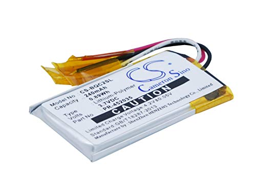 VINTRONS Battery Replacement Compatible for Bose QC20, QuietComfort 20,