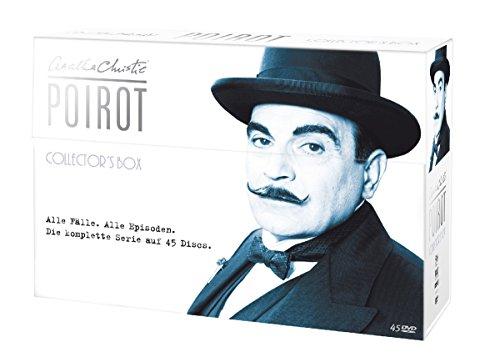 Poirot - Collector's Box im Schmuckkarton (exklusiv bei Amazon.de) [Limited Collector's Edition] [45 DVDs]