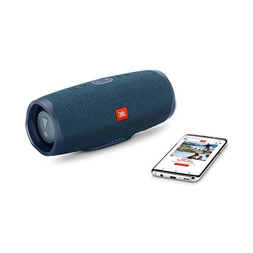 JBL Charge 4 Speaker Bluetooth Portatile – Cassa Altoparlante Bluetooth Waterproof IPX7 – Con Microfono, Porta USB, JBL Connect+ e Bass Radiator, Fino a 20h di Autonomia, Blu