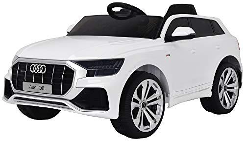 giordano shop Macchina Elettrica per Bambini 12V Audi Q8 Bianca