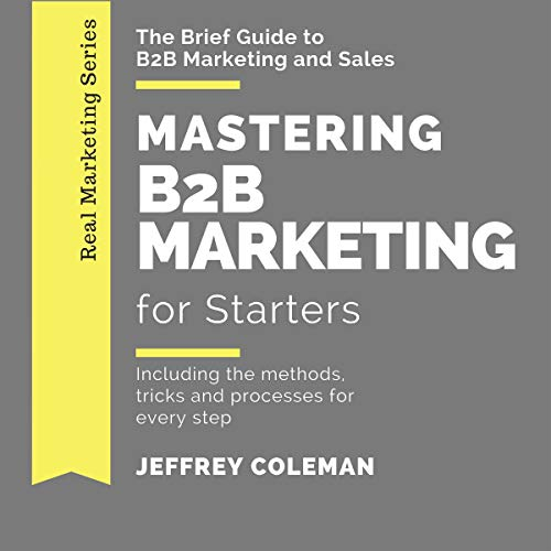 Mastering B2B Marketing for Starters audiobook cover art