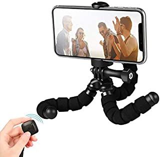 Phone Tripod, Fotopro Smartphone Tripod with Bluetooth Remote Shutter for iPhone, Samsung (4H-MS)