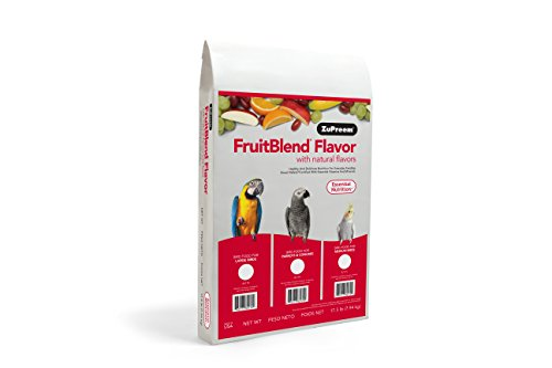ZuPreem AvianMaintenance FruitBlend Bird Diet for Large Birds