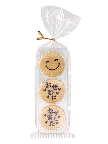 お礼メッセージクッキー 「お世話になりました」x10個