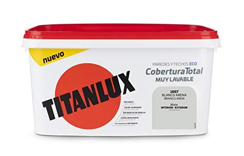 TITANLUX 06T100704 Pintura, Blanco Arena, 4L