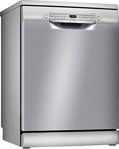 Bosch Elettrodomestici SMS2ITI11E Serie 2, Lavastoviglie da libero posizionamento, 60 cm, color inox