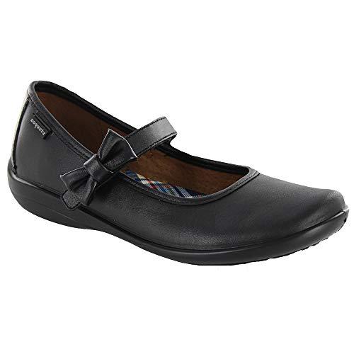 COQUETA Zapatos Escolares para Niñas Ajuste de Cinta con Detalle De Moño 19