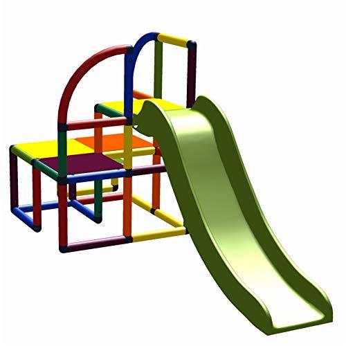 move and stic - Kinderrutsche TEO Kinder Meine Erste Mini Rutsche Spielzeug Babyrutsche Gartenrutsche