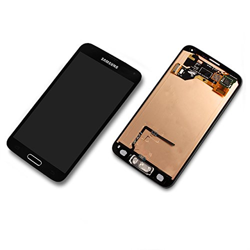 LCD & Touch für Samsung Galaxy S5 - GH97-15959B BLACK + Repair KIT