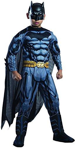 Disfraz de Batman de lujo para nios, tamao mediano