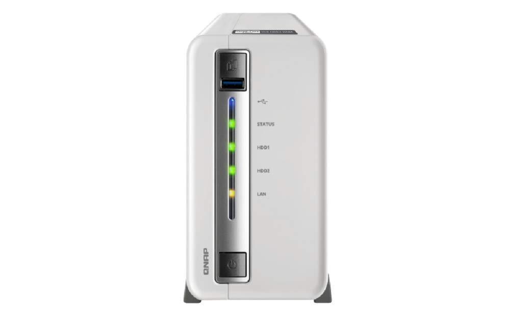 威联通(QNAP)TS-212P3 两盘位NAS网络存储器 (TS-212P3 标配)