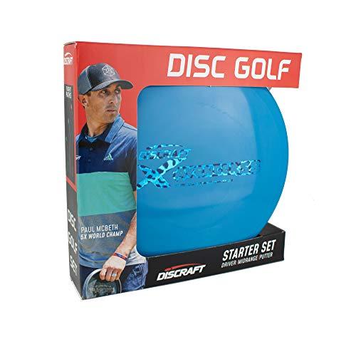 Discraft - Juego de Discos para Disc Golf (Principiantes), Pack de 3