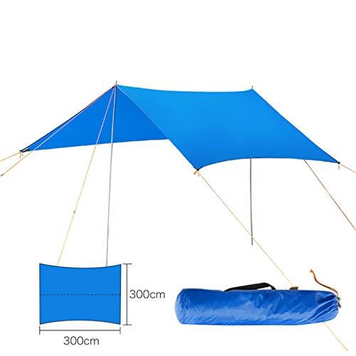QuRRong Toldo de Refugio Toldo al Aire Libre Playa Playa Al Aire Libre Camping Camping Toldo Toldo Sombrilla Sombrilla Sombrilla Hamaca Lluvia Fly Tarpaulin para Senderismo Playa