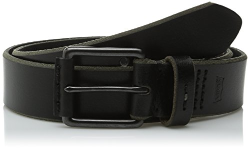 Levi's Men's 1 1/2 in. Belt With Nose Wrap,Black,34