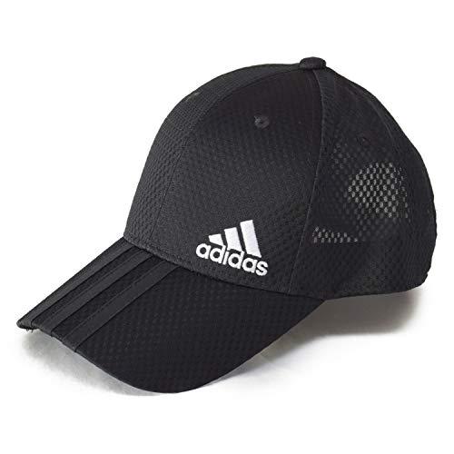 アディダス(adidas) 大きいサイズ 機能素材 帽子 キャップ ビックサイズ ゴルフ メッシュキャップ スポーツ アスリート (01 ブラック)