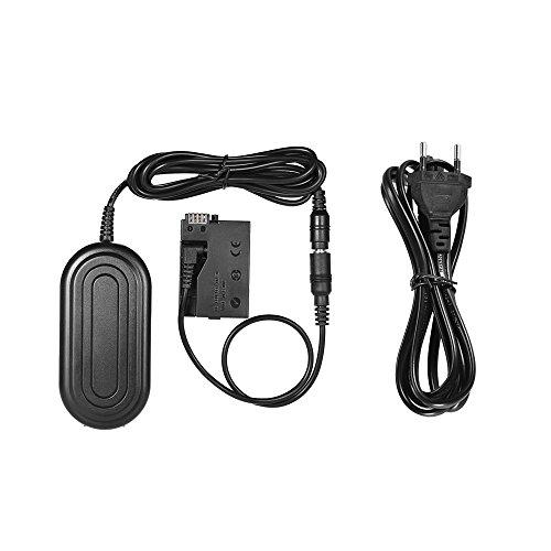 Andoer ACK-E8 Netzteil LP-E8 Dummy Akku Adapterkamera Ladegerät für Canon 700D 650D 600D 550D / Rebel T5i T4i T3i T2i Kiss X5 X4 X6i X7i DSLR