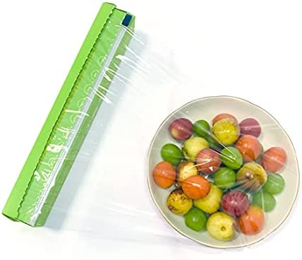 Top 10 Best professional plastic food wrap film with slide cutter