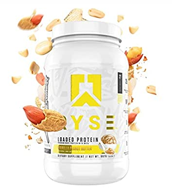 Ryse Loaded Protein by RYSE Up Supplements 2.3lb (Vanilla Peanut Butter)