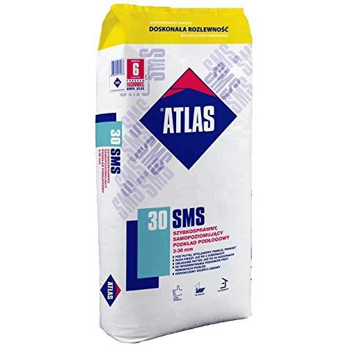 Ausgleichsmasse ATLAS SMS 30 25Kg schnellbindend selbstnivellierend Zementbasis 3-30 mm 25Kg