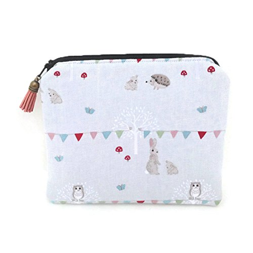 Womens Cotton Make up Pouch