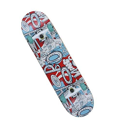 Standaard Skateboards Professionele skateboards Complete skateboards concaaf geschikt voor beginners jongens meisjes volwassenen kinderen