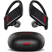 XXXAUDIO Wireless Earbuds,Bluetooth 5.0 Wireless Headphones True Wireless Stereo Earphones with LED Battery Display Built-in Mic, True Wireless Earbuds With Charging Case for Running,Workouts