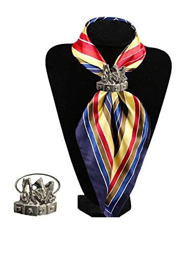 Brass Band embleem TG61 embleem gemaakt van fijn Engels tinnen op een sjaal ring gepost door ons geschenken voor alle 2016 van DERBYSHIRE Verenigd Koninkrijk...
