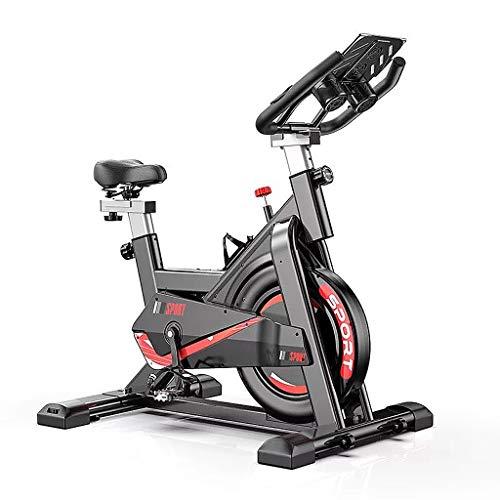 Bicicleta Estática Ultra Bicicleta Estática con Soporte para Tableta, Bicicleta De Ciclismo Interior para El Hogar para Entrenamiento Cardiovascular En Casa, Equipo De Entrenamiento para Bicicleta