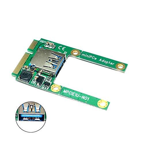 Soulitem Mini PCI-E a USB 3.0 PCI Express Adapter Tarjeta