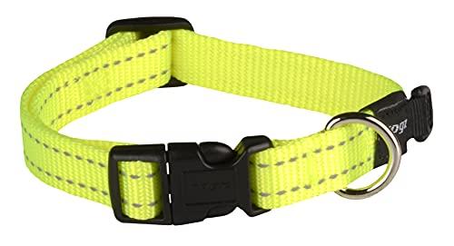 Collar para Perro Rogz. Collar con Cinta reflectora Cosida de 1,59cm