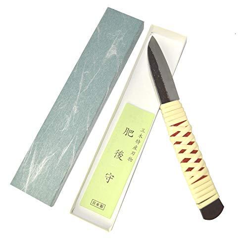 Cuchillo artesanal japonés Warikomi Toumaki hecho a mano en Japón por Nagao...