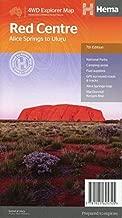 Red Centre 1 : 550 000: Alice Springs to Uluru