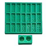 Chinesische Pai Gow Paigow Fliesen Spiel Würfel Epoxidharz Form Dominosteine Spiel Casino Spaß Schokolade Caak Backform Kunst Handwerk