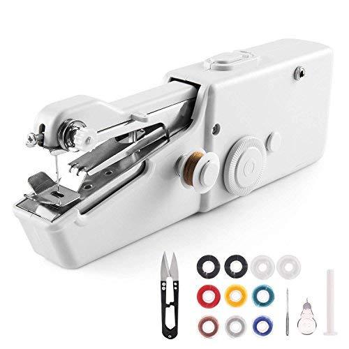 Handheld Sewing Machine, Mini Cordless Handheld Electric Sewing...