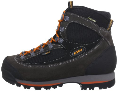 AKU TREKKER LITE II GTX 838, Scarponcini da escursionismo e trekking unisex adulto, Grigio (Grau (Anrt./Arancione 170)), 42 EU