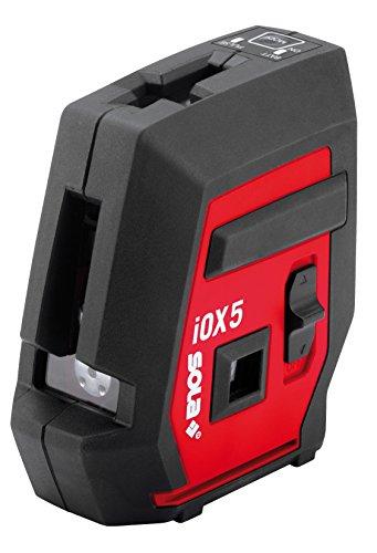 SOLA IOX5PRO - Nivel láser de líneas y puntos para construcción de tabiquería seca de hasta 80 m