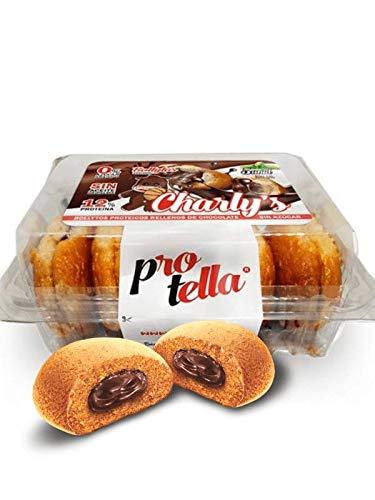 Charly's - Bollos con Chocolate - Sin Azúcar Añadido - Sin aceite de palma - Con Proteína