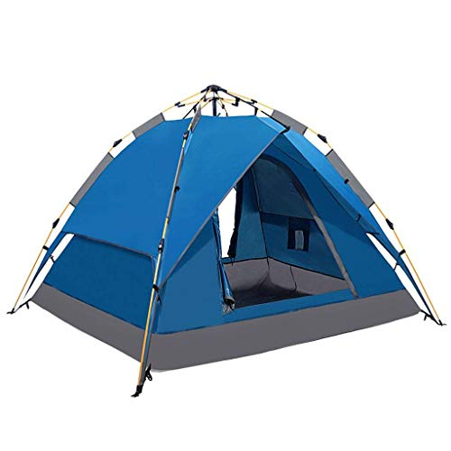 HUNOL Outdoor Tent, Pop Up Tent Foldable Camping Tent for 3-4People Picnic-D
