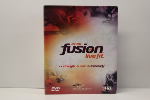 Rival Fusion Live Fit 21 DVD Set Stärke Core Total Body Übungsset