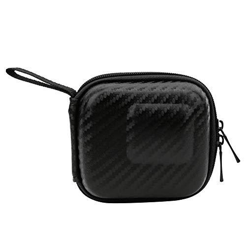 Akozon Mini Bolsa de cámara Deportiva Bolsa de Almacenamiento portátil pequeña para dji OSMO Action/Funda Protectora para cámara Deportiva(Negro)
