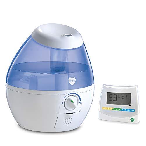Wick WUL520E4 Mini CoolMist Ultraschall Luftbefeuchter + Wick W70DA 2-in-1 Hygrometer and Thermometer