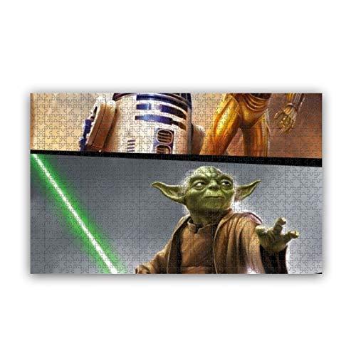 Cute Doormat Star Wars Rompecabezas para adultos 1000 piezas rompecabezas para niños y adultos juego desafiante