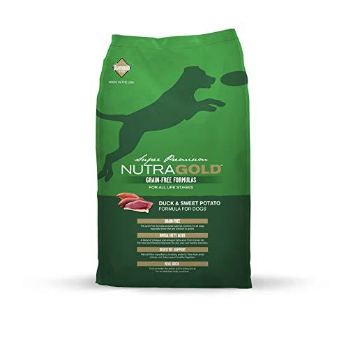 Nutra Gold Holistic pienso para perros sin grano con Pato 2,3 kg