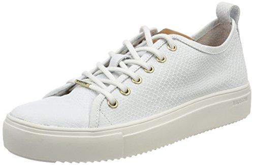 Blackstone Damen PL90 Sneaker, Weiß (White), 41 EU