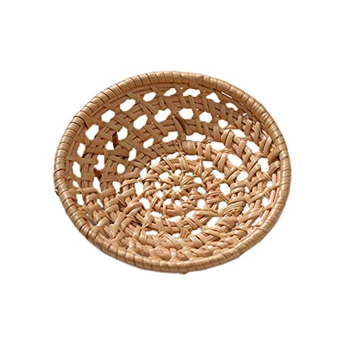 MOVKZACV Ronda Prueba de Pan Cesto de Prueba de la Cesta Natural de la Rata Fermentada de la Cesta | Tazón profesional de la prueba del pan (tamaño: S)
